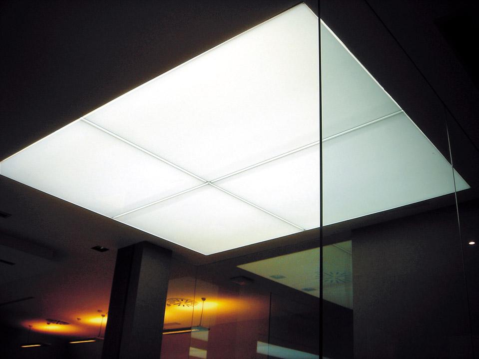Iluminaci n ales grupo - Iluminacion de techo ...
