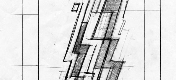 boceto del diseño