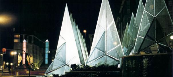 Estructuras urbanas artísticas