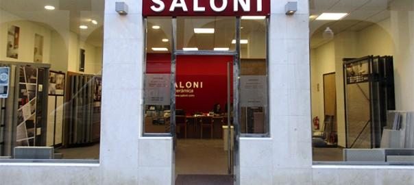 Rótulo letras corpóreas Saloni