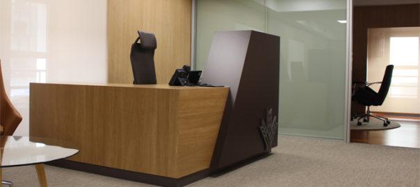Mesa de recepción